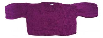 Mes Demoiselles ... Pink Polyester Knitwear