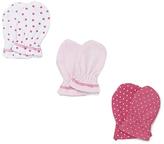 SpaSilk Pink Mitts Set