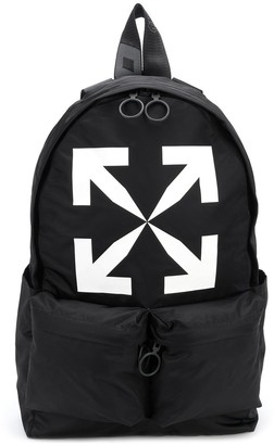 Off-White Arrow Print Backpack