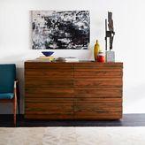 west elm Stria 6-Drawer Dresser - Honey