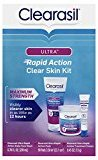 Clearasil Ultra Rapid Action Clear Skin 3 Piece Kit