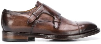 Officine Creative Polished Monk Shoes