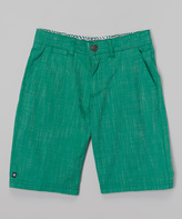 Micros Green Walk Shorts - Toddler & Boys