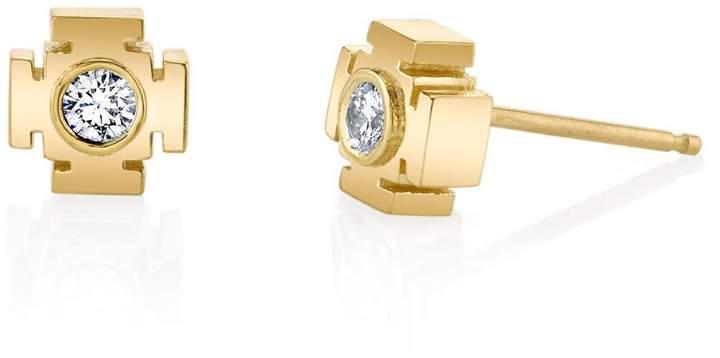 Ark Diamond Gateway Stud Earrings