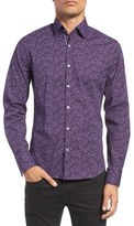 Stone Rose Dotted Paisley Sport Shirt