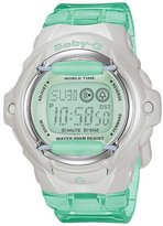 Casio Women's Baby G BG169WH-3V Resin Digital Watch with Dial
