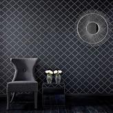 Graham & Brown 56 sq. ft. Quantum Black Wallpaper