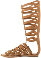 Penny Loves Kenny Moxie Women US 8.5 Tan Gladiator Sandal