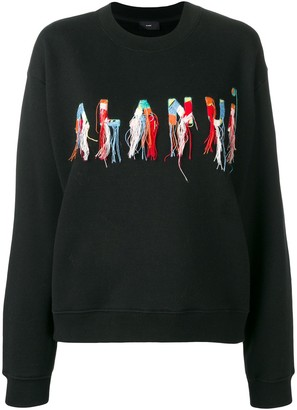 Alanui Embroidered Logo Sweater