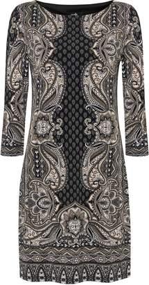 Wallis Stone Paisley Print Shift Dress