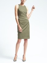 Banana Republic Sateen Sheath