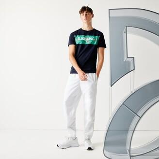 Lacoste Men's SPORT Collab Youssef SY Cotton T-shirt