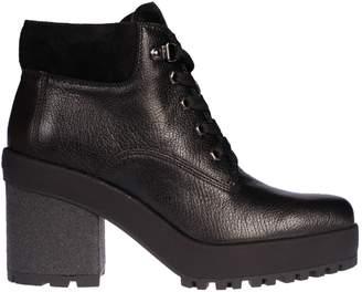 Hogan H475 High Heel Laced-up Boots