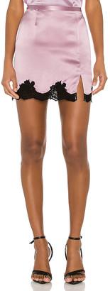 Fleur Du Mal James Lace Skirt