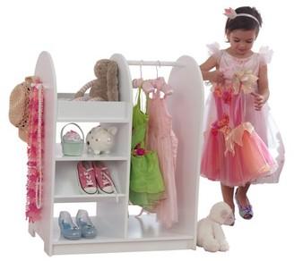 Kid Kraft Fashion Pretend Play Station - White