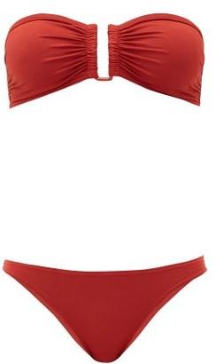 Eres Show & Fripon Bandeau Bikini - Red