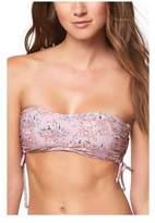 O'Neill Women's Calvin Floral Bandeau Bikini Top - Barefoot Bikini Tops