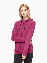 Kate Spade Cozy fleece tab bow hoodie