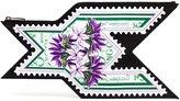 Mary Katrantzou Stamp-Print Clutch