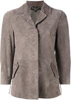 Salvatore Ferragamo classic collared jacket