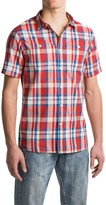 Jachs Plaid Shirt - Short Sleeve (For Men)