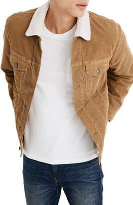 Madewell Fleece Lined Classic Jean Jacket Corduroy Edition