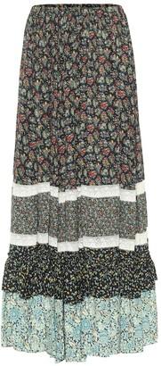 Gucci x Liberty floral crepe maxi skirt