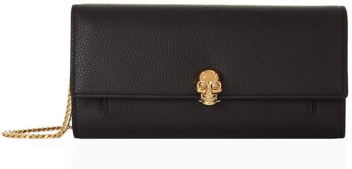Alexander McQueen Skull Chain Wallet Bag