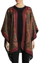 Etro Wool & Cashmere Poncho