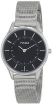 Pulsar Women's PTA501X Stainless Steel Watch with Mesh Strap
