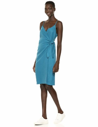 BCBGeneration Women's Strappy Sheath Wrap Dress