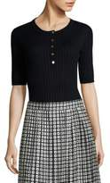 Tory Burch Ribbed Henley