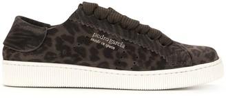 Pedro Garcia Leopard Print Sneakers