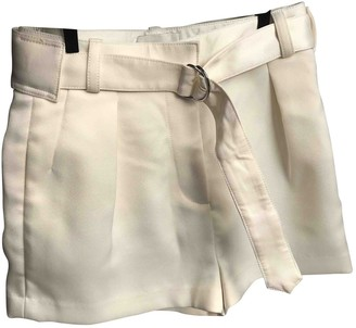 3.1 Phillip Lim White Shorts for Women