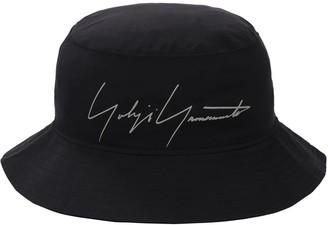 Yohji Yamamoto New Era Logo Gore-Tex Bucket Hat