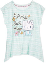 Hello Kitty Enjoy The Little Things Top, Toddler & Little Girls (2T-6X)