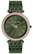 Michael Kors Women's Darci Crystal Bezel Braclet Watch, 39Mm