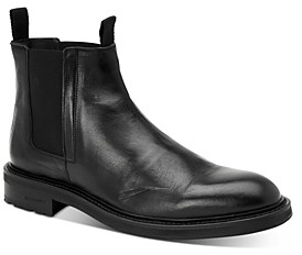 AllSaints Men's Brendon Leather Chelsea Boots