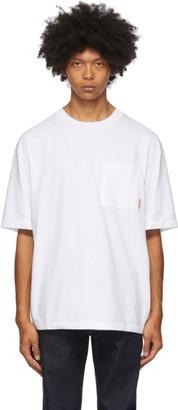 Acne Studios White Patch Pocket T-Shirt