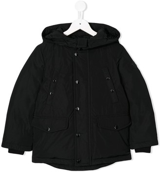 Moncler Enfant Hooded Padded Jacket