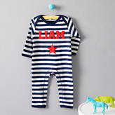 Nell Percy and Personalised Single Star Romper