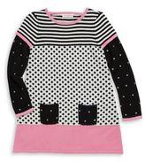 Design History Toddler's & Little Girl's Knit Patterned Dress