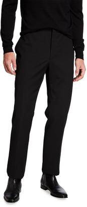 Fendi Men's Multi-Piping Wool Trouser Pants