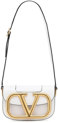 Valentino Supervee Small leather shoulder bag