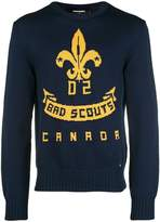 DSQUARED2 bad scouts sweater