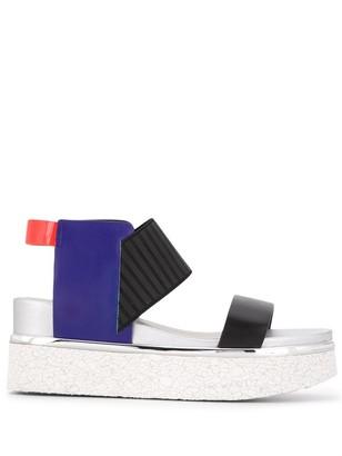 United Nude Rico colour block sandals