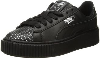 Puma Basket Platform Sneakers - ShopStyle