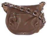 Isabel Marant Suede & Leather Shoulder Bag