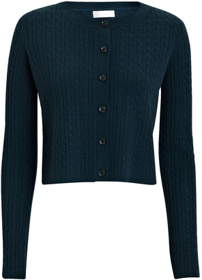 SABLYN Cleo Cable Knit Cashmere Cardigan