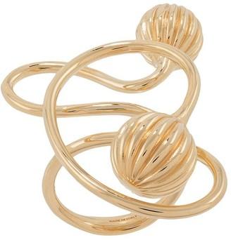 Lanvin Twist-Detail Ring